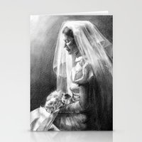 bride Stationery Cards featuring Bride by Hugo F G