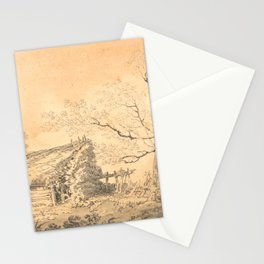 Landscape with Barn (1795 by J.M.W Turner Stationery Cards
