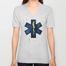 EMT Hero Unisex V-Neck