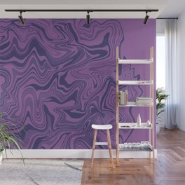 Two-toned purple Agate Wall Mural