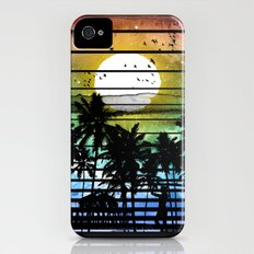 VIVID STRIPES iPhone (4, 4s) Slim Case