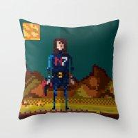 8bit Throw Pillows featuring 8bit sequal? by pixel.pwn | AK