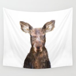 Little Moose Wall Tapestry