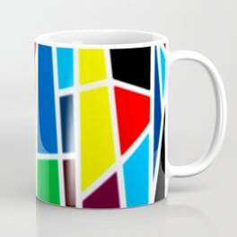 Geometric Shapes - bold and bright Coffee Mug