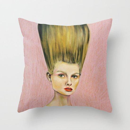 Up'do Throw Pillow