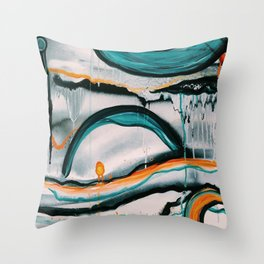 Silver Linings Throw Pillow