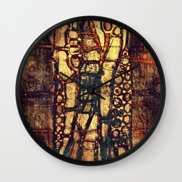 Pictograph Wall Clock