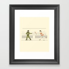 Race of War Framed Art Print