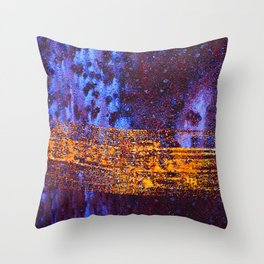 Space-Time Continuum Throw Pillow