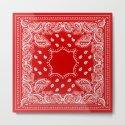 Bandana in Red & White by rosemarya