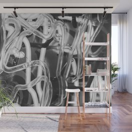 Vintage Neons Wall Mural