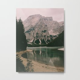 Braies Lake #1 Metal Print