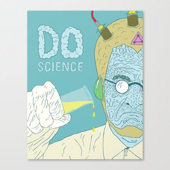 Do Science  Canvas Print