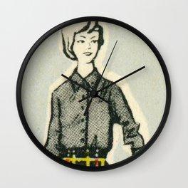 Fashion ´65 # 5 Wall Clock