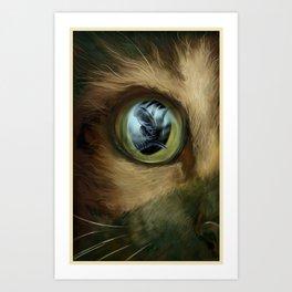 ALIEN (Jonesy) Art Print
