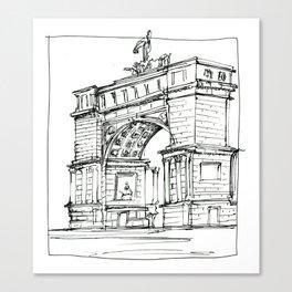 Arch D'Triumph Canvas Print
