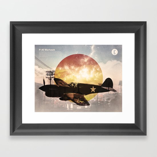 Warhawk Framed Art Print