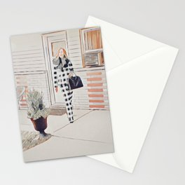 I'm positively bedeviled with meetings et cetera. Stationery Cards