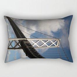 Bay Bridge in the Sun Rectangular Pillow