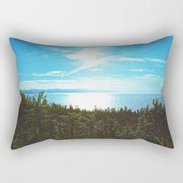 Endless Mapless Landscape Rectangular Pillow