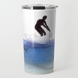 Parting Ways by Lars Furtwaengler | Colored Pencil | 2013 Travel Mug