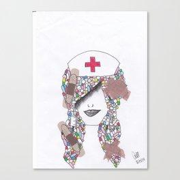 365 cabelos - drugs Canvas Print