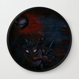Dream Eaters Wall Clock