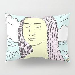 Mona Lisa Pop Pillow Sham