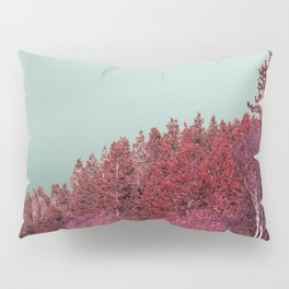 Pink Norway - The Forest Pillow Sham