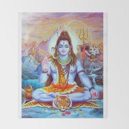 Shiva Throw Blanket