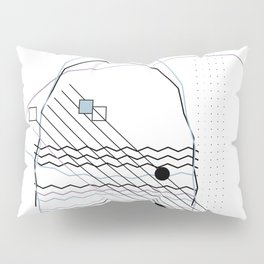 Mountains by the Ocean Pillow Sham
