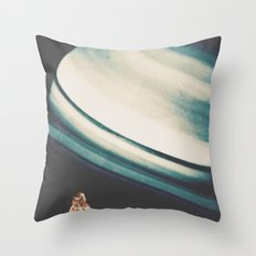Terminal Throw Pillow