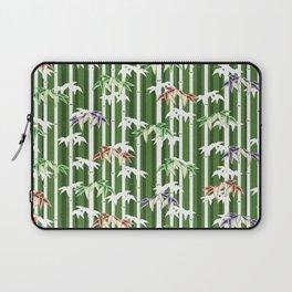 Vintage oriental Bamboo pattern Laptop Sleeve