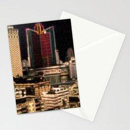 City Lights- Bangkok Stationery Cards