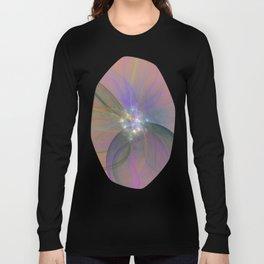 Fairy Blossom Fractal Long Sleeve T-shirt