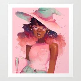 Magic AF Art Print