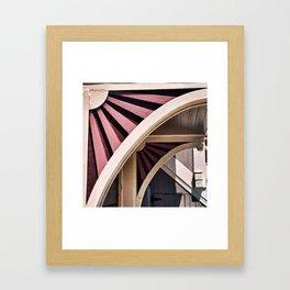 Flower Arch Framed Art Print