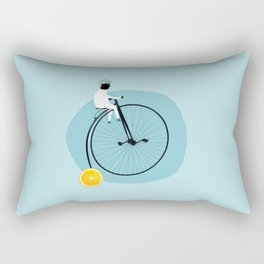 My bike Rectangular Pillow