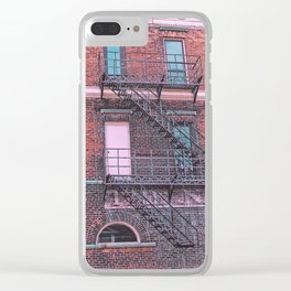 Old Building Clear iPhone Case