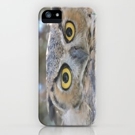 Young Owl at Noon iPhone Case