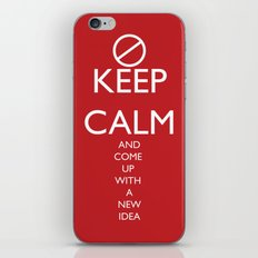 Maybe, Don't Keep Calm iPhone & iPod Skin