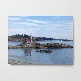 Fisgard Lighthouse, Victoria B.C. Metal Print