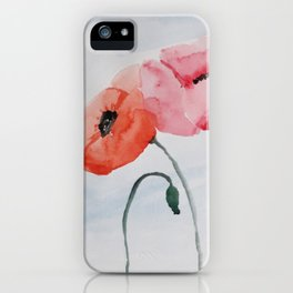 Poppies no 3 iPhone Case