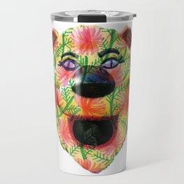 Shiny Happy Lion Travel Mug