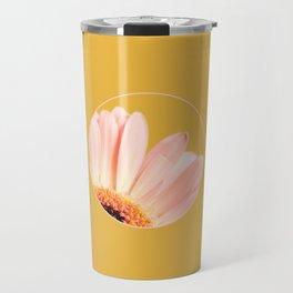 010 Flower Travel Mug
