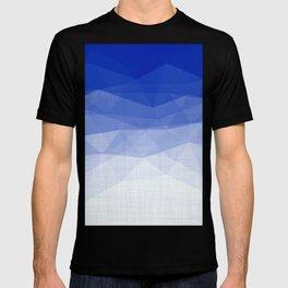 Imperial Lapis Lazuli - Triangles Minimalism Geometry T-shirt