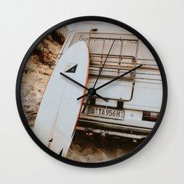 lets surf xxvii Wall Clock