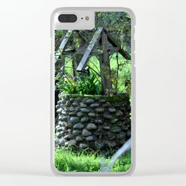 The Wishing Well Clear iPhone Case