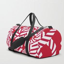 Candy cane flower 7 Duffle Bag
