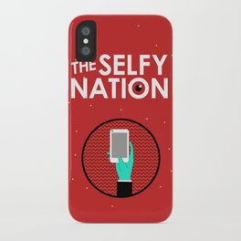 The Selfy Nation iPhone Case